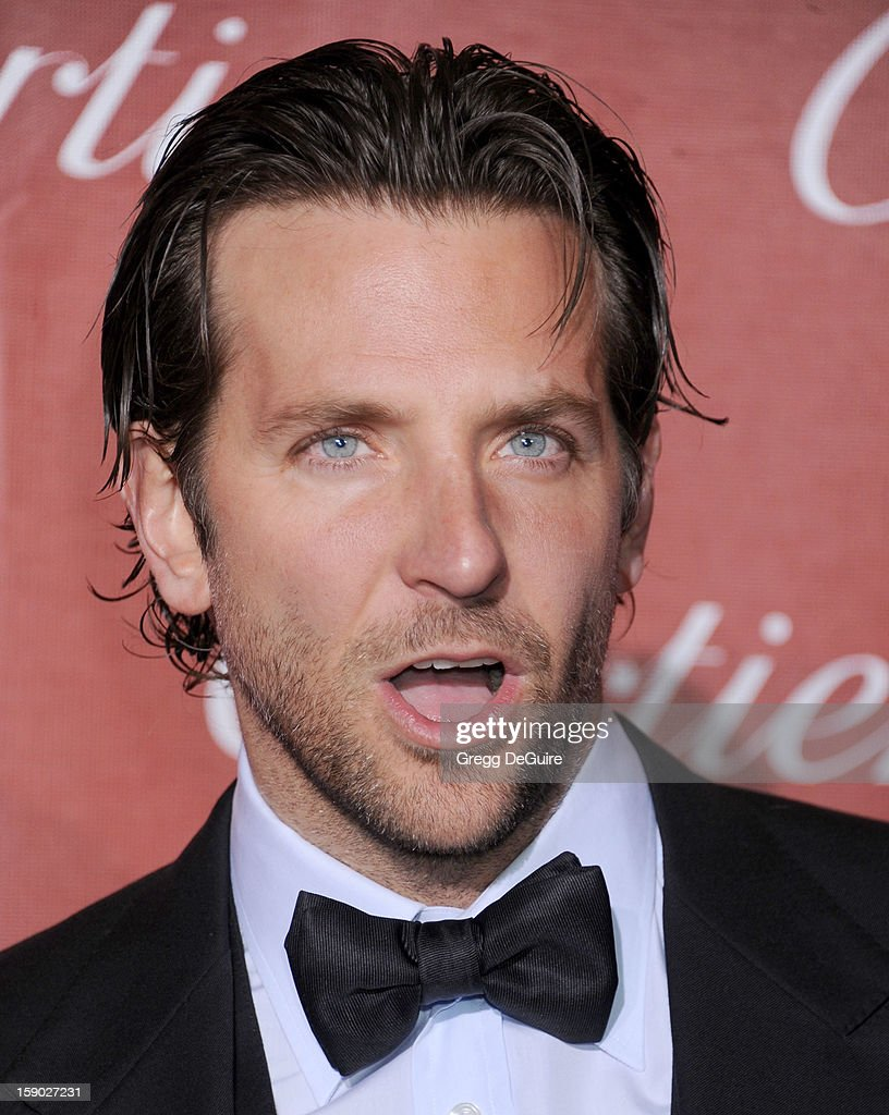 Actor Bradley Cooper arrives at the 24th Annual Palm Springs International Film Festival Awards Gala at Palm Springs Convention Center on January 5, 2013 in Palm Springs, California.
