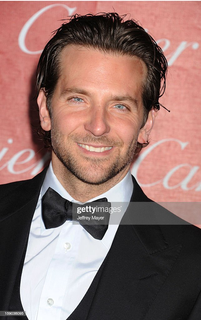 Actor Bradley Cooper arrives at the 24th Annual Palm Springs International Film Festival - Awards Gala at Palm Springs Convention Center on January 5, 2013 in Palm Springs, California.