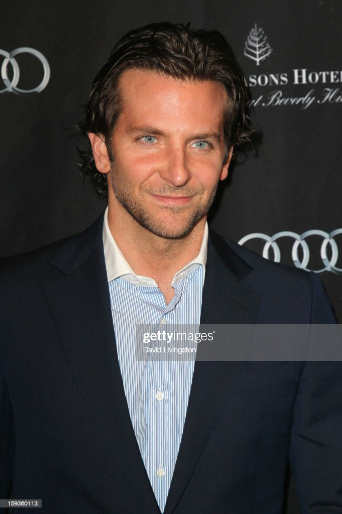 Actor <a gi-track='captionPersonalityLinkClicked' href=/galleries/search?phrase=Bradley+Cooper&family=editorial&specificpeople=680224 ng-click='$event.stopPropagation()'>Bradley Cooper</a> arrives at the BAFTA Los Angeles 2013 Awards Season Tea Party held at the Four Seasons Hotel Los Angeles on January 12, 2013 in Los Angeles, California.