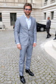 Actor Bradley Cooper arriving at Bulgari event to present the Diva Collection at Hotel Potocki on July 2 2013 in Paris France