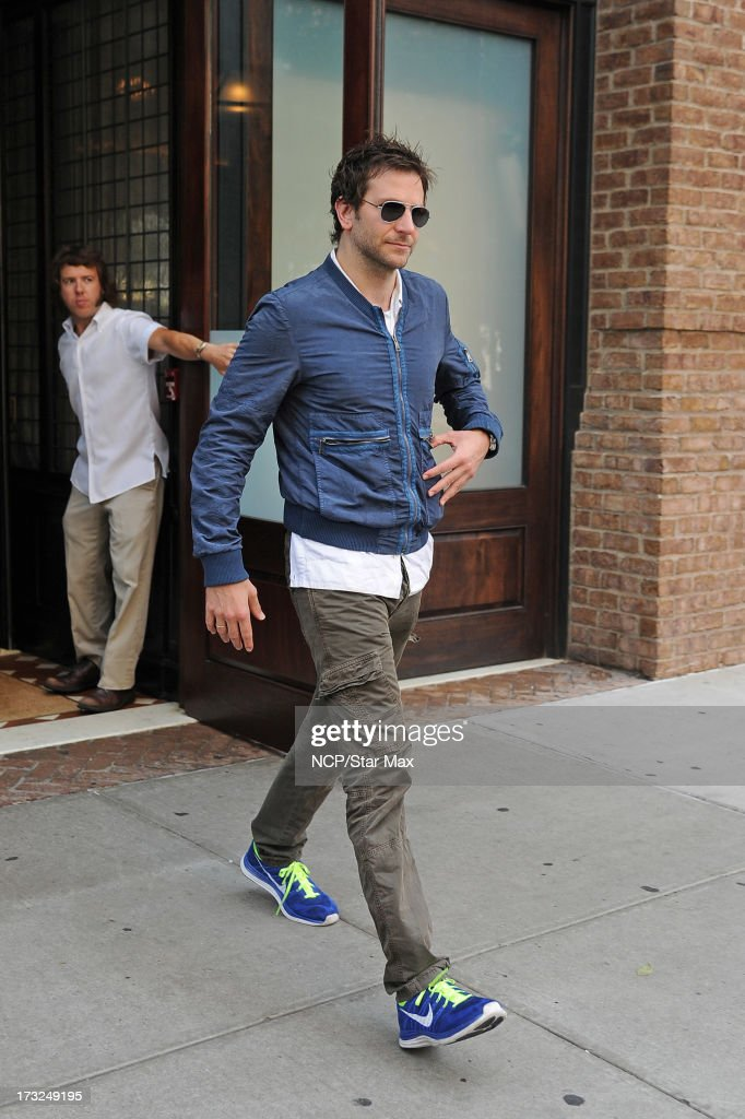 Actor Bradley Cooper as seen on July 10, 2013 in New York City.