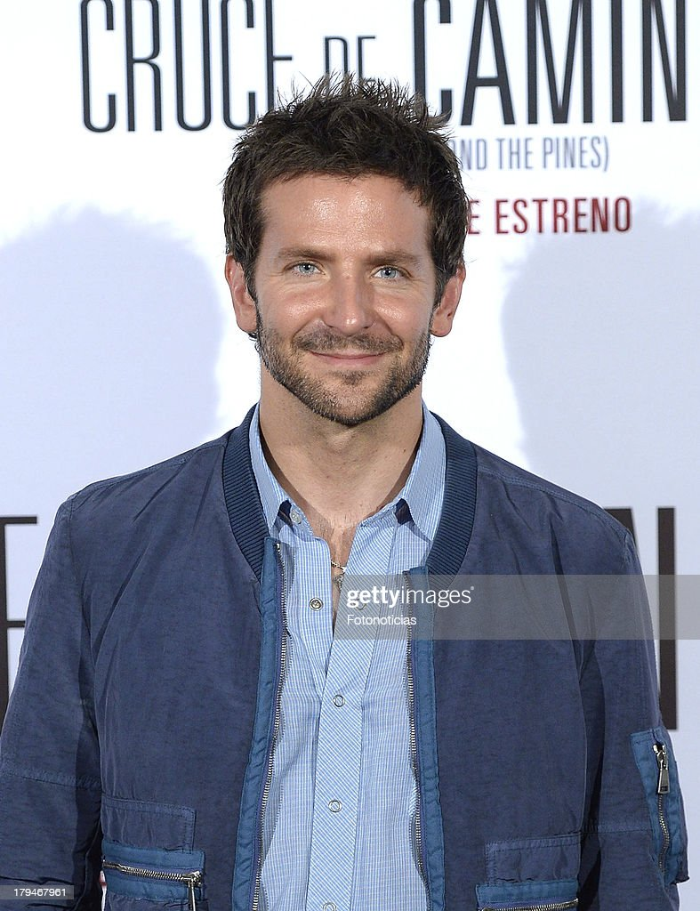 Actor <a gi-track='captionPersonalityLinkClicked' href=/galleries/search?phrase=Bradley+Cooper&family=editorial&specificpeople=680224 ng-click='$event.stopPropagation()'>Bradley Cooper</a> attends a photocall for 'The Place Beyond The Pines' (Cruce de Caminos) at Santo Mauro Hotel on September 4, 2013 in Madrid, Spain.