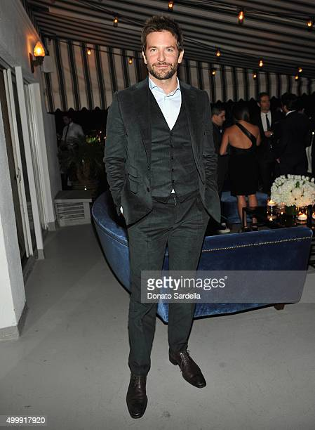 Actor Bradley Cooper attends GQ And Dior Homme Private Dinner In Celebration Of GQ's 20th Anniversary Men Of The Year Party at Chateau Marmont Hotel...