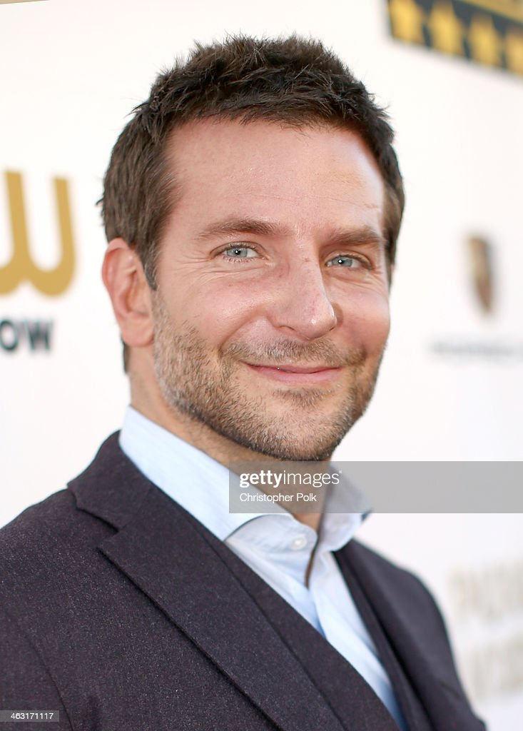 Actor <a gi-track='captionPersonalityLinkClicked' href=/galleries/search?phrase=Bradley+Cooper&family=editorial&specificpeople=680224 ng-click='$event.stopPropagation()'>Bradley Cooper</a> attends the 19th Annual Critics' Choice Movie Awards at Barker Hangar on January 16, 2014 in Santa Monica, California.