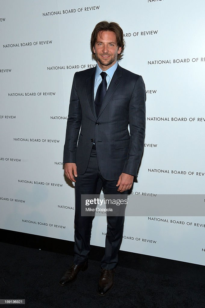 Actor Bradley Cooper attends the 2013 National Board Of Review Awards Gala at Cipriani 42nd Street on January 8, 2013 in New York City.
