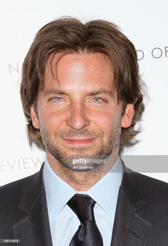 Actor Bradley Cooper attends the 2013 National Board Of Review Awards Gala at Cipriani Wall Street on January 8, 2013 in New York City.