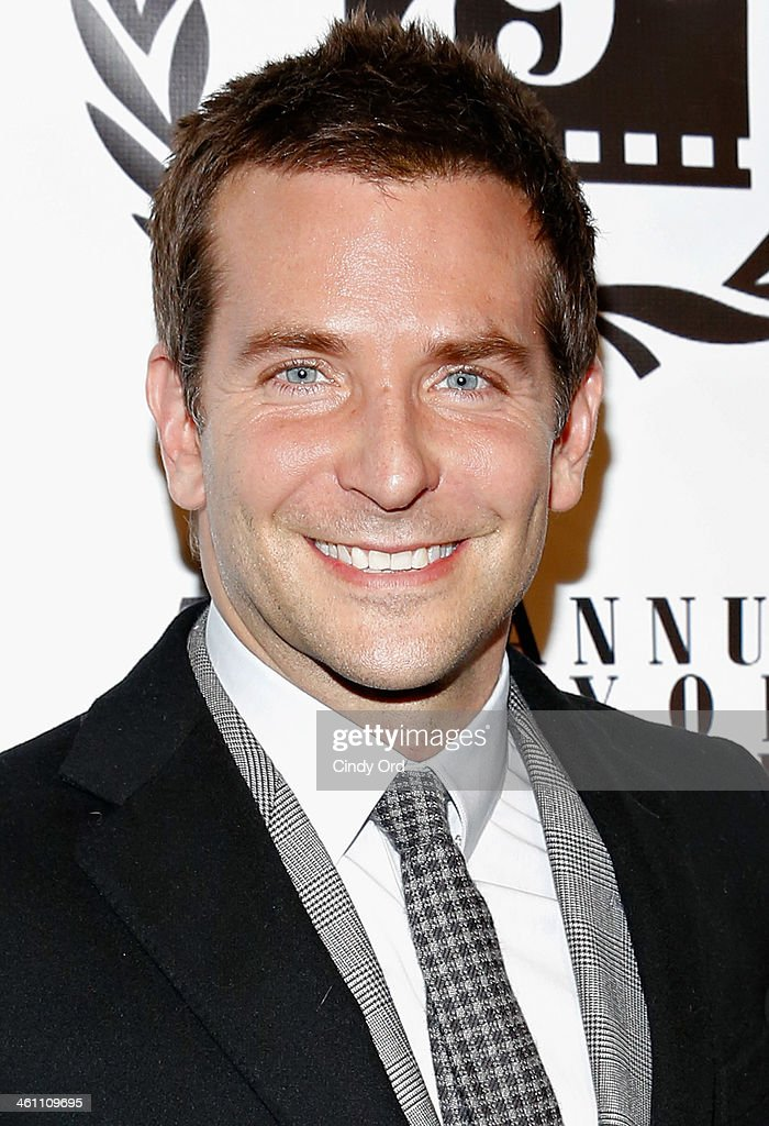 Actor <a gi-track='captionPersonalityLinkClicked' href=/galleries/search?phrase=Bradley+Cooper&family=editorial&specificpeople=680224 ng-click='$event.stopPropagation()'>Bradley Cooper</a> attends the 2013 New York Film Critics Circle Awards Ceremony at The Edison Ballroom on January 6, 2014 in New York City.