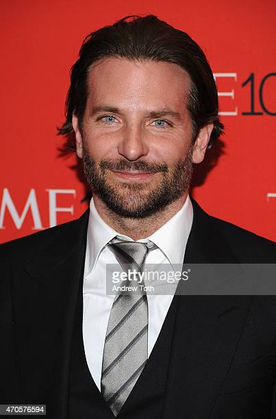 Actor Bradley Cooper attends the 2015 Time 100 Gala at Frederick P Rose Hall Jazz at Lincoln Center on April 21 2015 in New York City