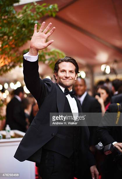 Actor Bradley Cooper attends the 2015 Tony Awards at Radio City Music Hall on June 7 2015 in New York City