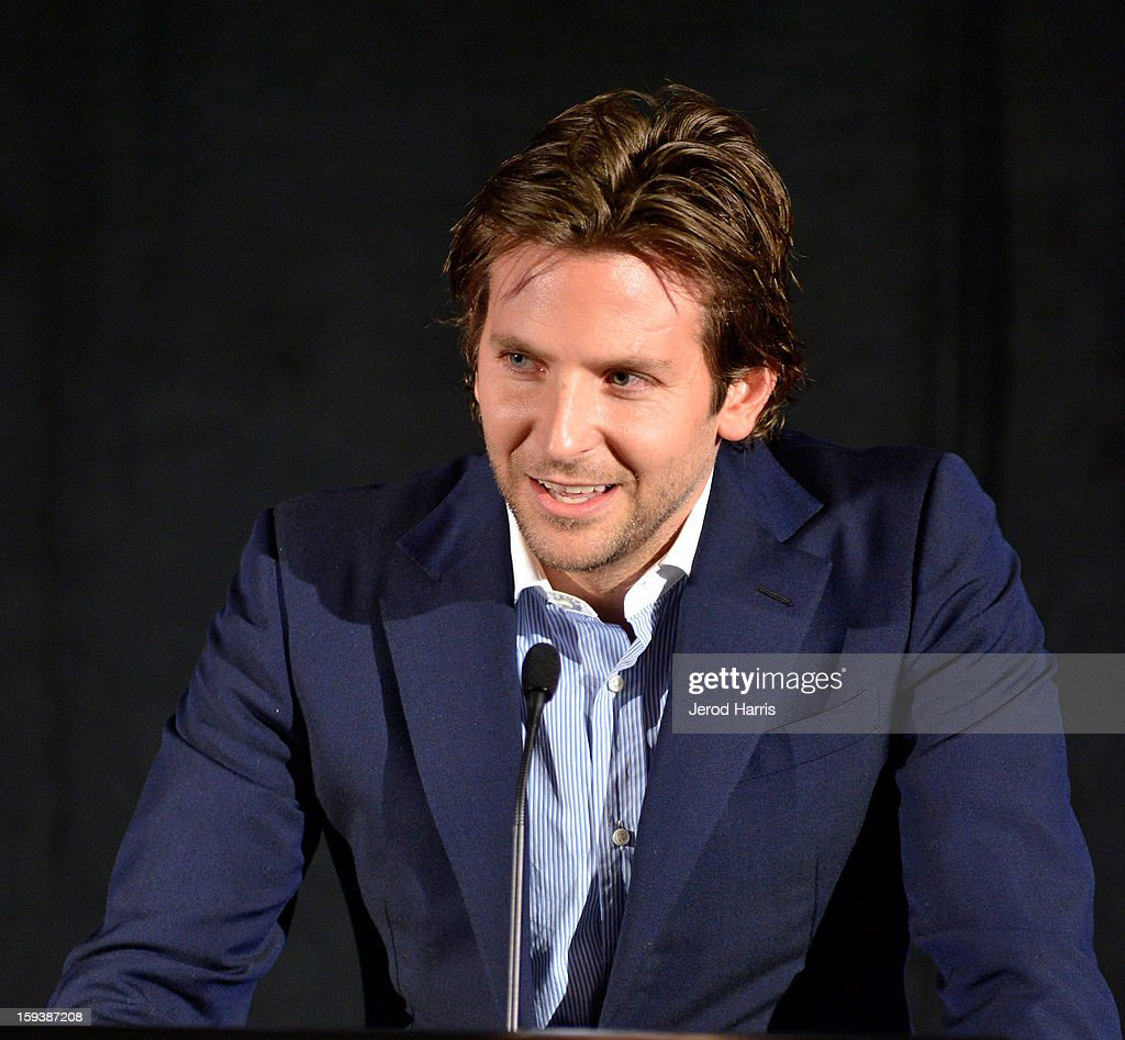Actor <a gi-track='captionPersonalityLinkClicked' href=/galleries/search?phrase=Bradley+Cooper&family=editorial&specificpeople=680224 ng-click='$event.stopPropagation()'>Bradley Cooper</a> attends the 38th Annual Los Angeles Film Critics Association Awards - Show at InterContinental Hotel on January 12, 2013 in Century City, California.