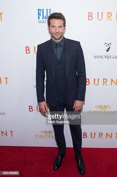 Actor Bradley Cooper attends the 'Burnt' New York premiere at Museum of Modern Art on October 20 2015 in New York City
