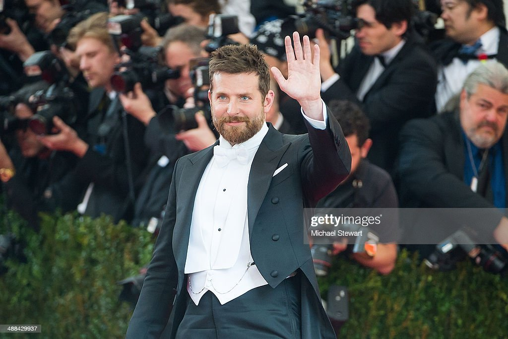 Actor Bradley Cooper attends the 'Charles James Beyond Fashion' Costume Institute Gala at the Metropolitan Museum of Art on May 5 2014 in New York...