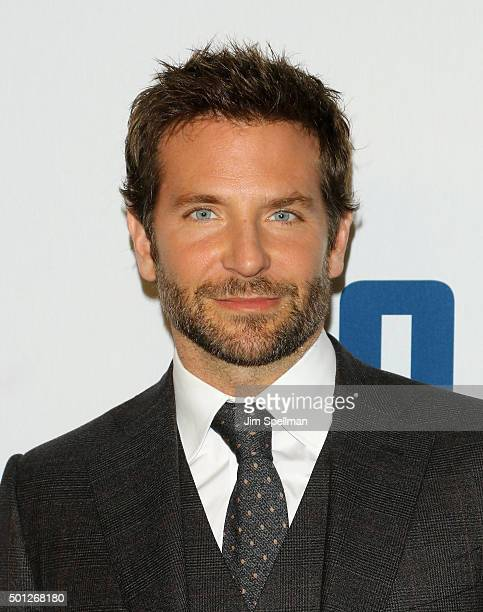Actor Bradley Cooper attends the 'Joy' New York premiere at the Ziegfeld Theater on December 13 2015 in New York City