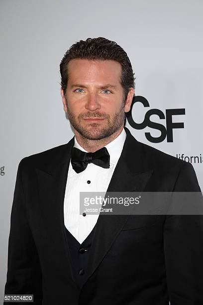 Actor Bradley Cooper attends the launch of the Parker Institute for Cancer Immunotherapy an unprecedented collaboration between the country's leading...