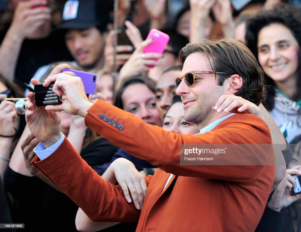 Actor <a gi-track='captionPersonalityLinkClicked' href=/galleries/search?phrase=Bradley+Cooper&family=editorial&specificpeople=680224 ng-click='$event.stopPropagation()'>Bradley Cooper</a> attends the premiere of Warner Bros. Pictures' 'Hangover Part 3' at Westwood Village Theater on May 20, 2013 in Westwood, California.
