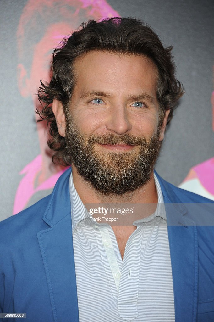 Actor Bradley Cooper attends the premiere of Warner Bros Pictures' 'War Dogs' held at the TCL Chinese Theater on August 15 2016 in Hollywood...