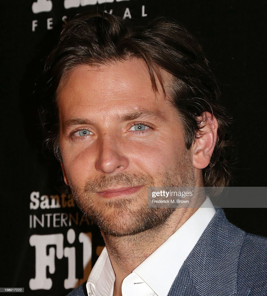 Actor <a gi-track='captionPersonalityLinkClicked' href=/galleries/search?phrase=Bradley+Cooper&family=editorial&specificpeople=680224 ng-click='$event.stopPropagation()'>Bradley Cooper</a> attends the SBIFF's 2012 Kirk Douglas Award for Excellence In Film during the Santa Monica Film Festival on December 8, 2012 in Goleta, California.