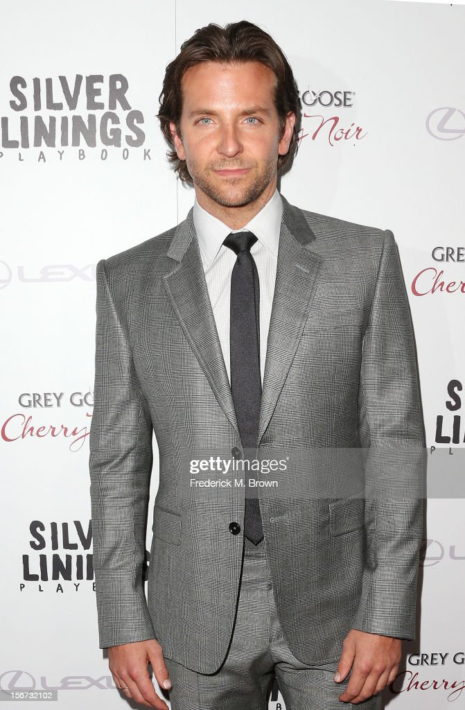 Actor Bradley Cooper attends the Screening Of The Weinstein Company's 'Silver Linings Playbook' at The Academy of Motion Pictures Arts and Sciences on November 19, 2012 in Beverly Hills, California.