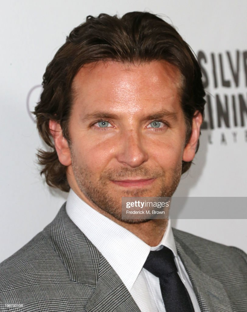Actor <a gi-track='captionPersonalityLinkClicked' href=/galleries/search?phrase=Bradley+Cooper&family=editorial&specificpeople=680224 ng-click='$event.stopPropagation()'>Bradley Cooper</a> attends the Screening Of The Weinstein Company's 'Silver Linings Playbook' at The Academy of Motion Pictures Arts and Sciences on November 19, 2012 in Beverly Hills, California.