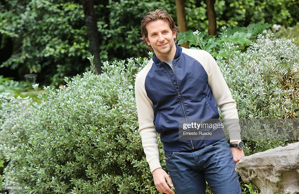Actor Bradley Cooper attends the 'Silver Linings Playbook' photocall at De Russie Hotel on January 21, 2013 in Rome, Italy.