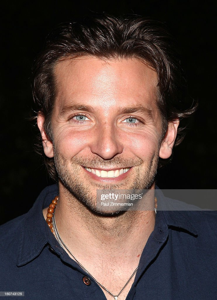 Actor <a gi-track='captionPersonalityLinkClicked' href=/galleries/search?phrase=Bradley+Cooper&family=editorial&specificpeople=680224 ng-click='$event.stopPropagation()'>Bradley Cooper</a> attends 'The Words' screening at Goose Creek on August 25, 2012 in East Hampton, New York.