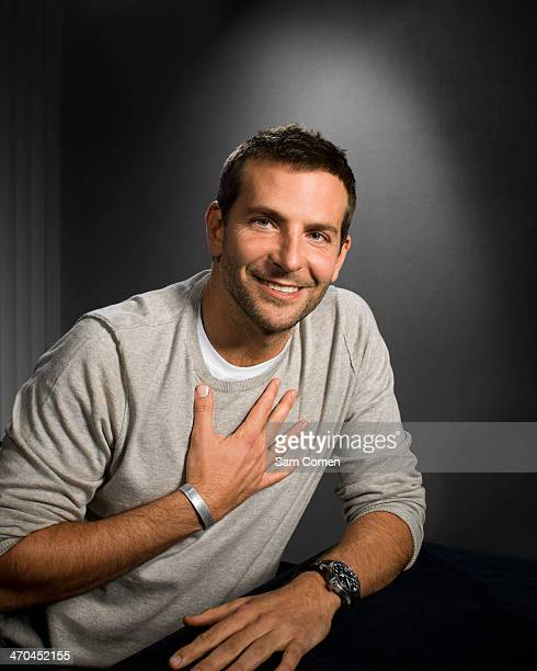 Actor Bradley Cooper is photographed for Wall Street Journal on November 30 2013 in Hollywood California