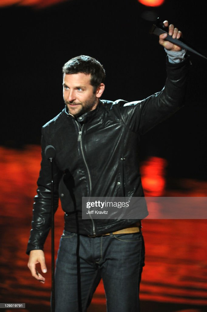 Actor Bradley Cooper onstage during Spike TV's 'Scream 2011' at Universal Studios on October 15 2011 in Universal City California