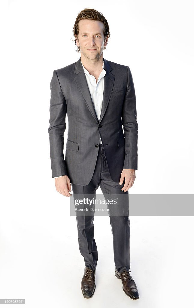 Actor <a gi-track='captionPersonalityLinkClicked' href=/galleries/search?phrase=Bradley+Cooper&family=editorial&specificpeople=680224 ng-click='$event.stopPropagation()'>Bradley Cooper</a> poses for a portrait during the 85th Academy Awards Nominations Luncheon at The Beverly Hilton Hotel on February 4, 2013 in Beverly Hills, California.