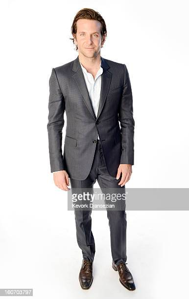 Actor Bradley Cooper poses for a portrait during the 85th Academy Awards Nominations Luncheon at The Beverly Hilton Hotel on February 4 2013 in...