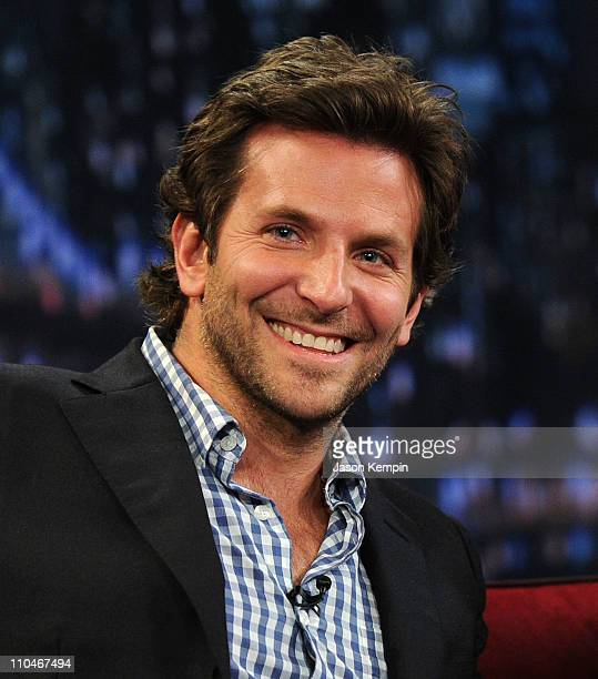 Actor Bradley Cooper visits 'Late Night with Jimmy Fallon' at Rockefeller Center on March 18 2011 in New York City