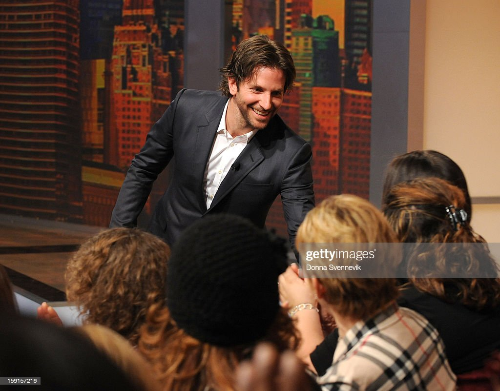 THE VIEW - Actor Bradley Cooper was the guest today, January 8, 2012, on 'The View.' 'The View' airs Monday-Friday (11:00 am-12:00 pm, ET) on the ABC Television Network. COOPER