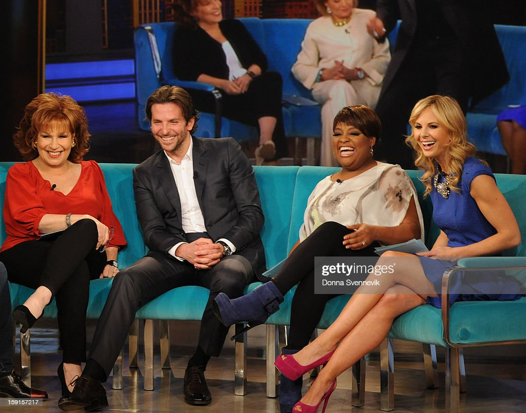 THE VIEW - Actor Bradley Cooper was the guest today, January 8, 2012, on 'The View.' 'The View' airs Monday-Friday (11:00 am-12:00 pm, ET) on the ABC Television Network. HASSELBECK