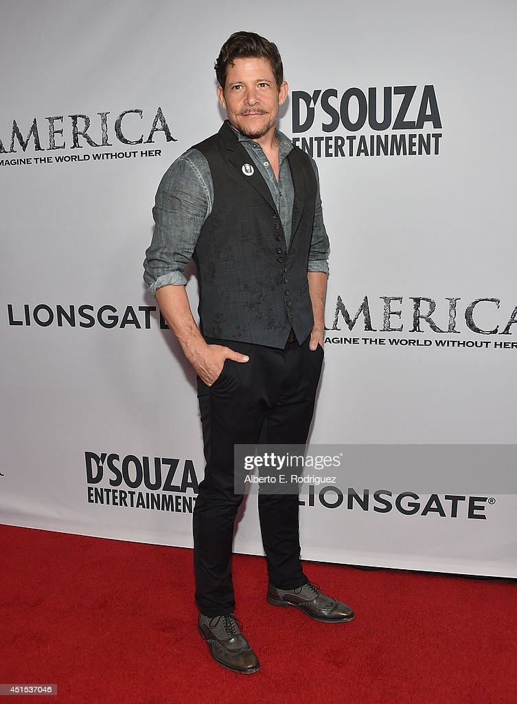 Actor Bradley Gregg attends the premiere of Lionsgate Films' 'America' at Regal Cinemas L.A. Live on June 30, 2014 in Los Angeles, California.