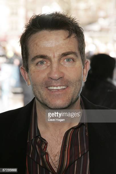 Actor Bradley Walsh arrives at the UK Premiere of 'Ice Age 2 The Meltdown' at the Empire Leicester Square on April 2 2006 in London England