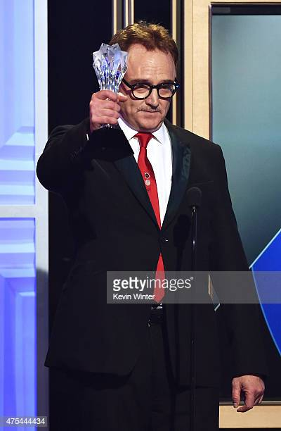 Actor Bradley Whitford accepts the Best Guest Performer in a Comedy Series award for 'Transparent' onstage at the 5th Annual Critics' Choice...