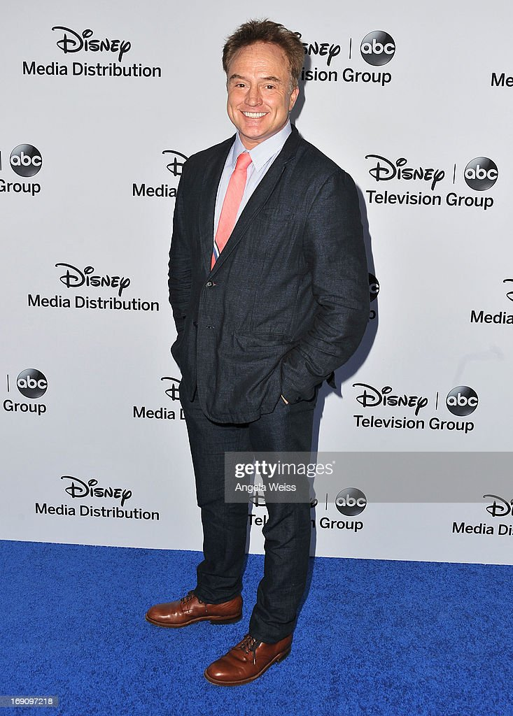 Actor <a gi-track='captionPersonalityLinkClicked' href=/galleries/search?phrase=Bradley+Whitford&family=editorial&specificpeople=208793 ng-click='$event.stopPropagation()'>Bradley Whitford</a> arrives at the Disney Media Networks International Upfronts at Walt Disney Studios on May 19, 2013 in Burbank, California.