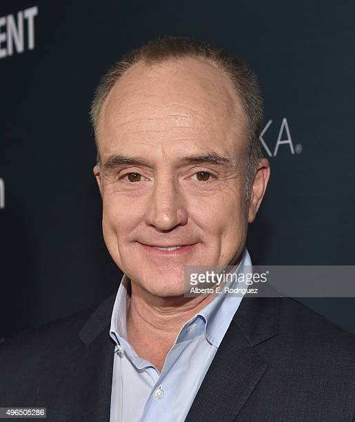 Actor Bradley Whitford attends the Premiere Of Amazon's 'Transparent' Season 2 at SilverScreen Theater at the Pacific Design Center on November 9...