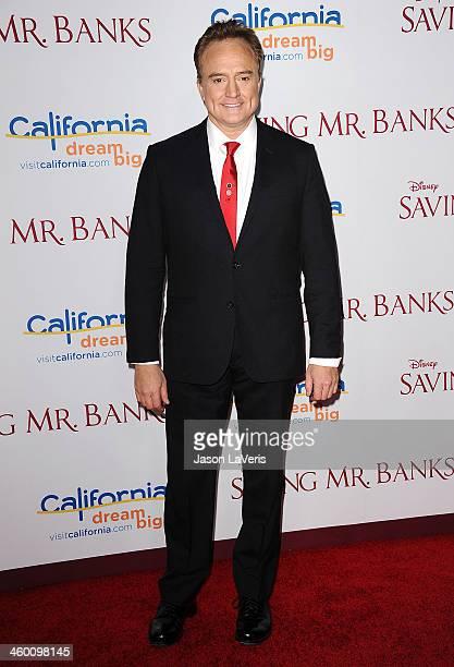 Actor Bradley Whitford attends the premiere of 'Saving Mr Banks' at Walt Disney Studios on December 9 2013 in Burbank California