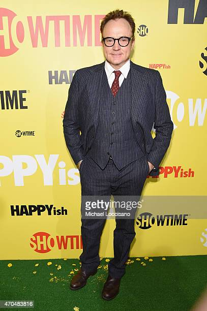 """Actor Bradley Whitford attends the premiere of the SHOWTIME original comedy series """"HAPPYish"""" at The Bowery Hotel on April 20 2015 in New York City..."""