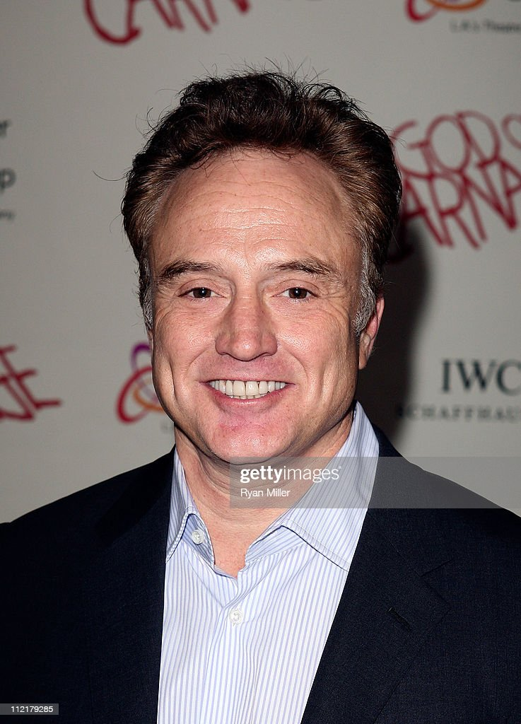 Actor Bradley Whitford poses during the arrivals for the opening night performance of 'God of Carnage' at Center Theatre Group's Ahmanson Theatre on April 13, 2011 in Los Angeles, California.