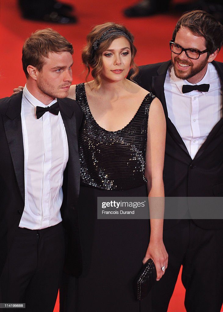 Actor Brady Corbet, actress Elizabeth Olsen and Director Sean Durkin attend the 'Martha Marcy May Marlene' premiere during the 64th Cannes Film Festival at the Palais des Festivals on May 15, 2011 in Cannes, France.