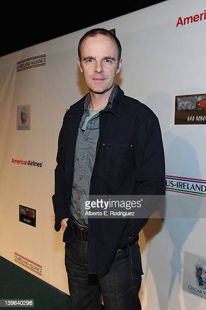 Actor Brían F O'Byrne attends the 7th Annual 'Oscar Wilde Honoring The Irish In Film' PreAcademy Awards Event at Bad Robot on February 23 2012 in...
