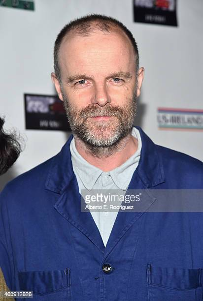 Actor Brían F O'Byrne attends the USIreland Aliiance's Oscar Wilde Awards event at JJ Abrams' Bad Robot on February 19 2015 in Santa Monica California