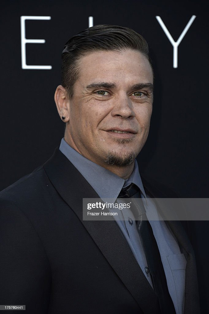 Actor Brandon Auret arrives at the premiere of TriStar Pictures' 'Elysium' at Regency Village Theatre on August 7, 2013 in Westwood, California.