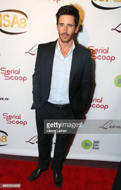 Actor Brandon Beemer arrives at the 8th Annual Indie Series Awards at The Colony Theater on April 5 2017 in Burbank California