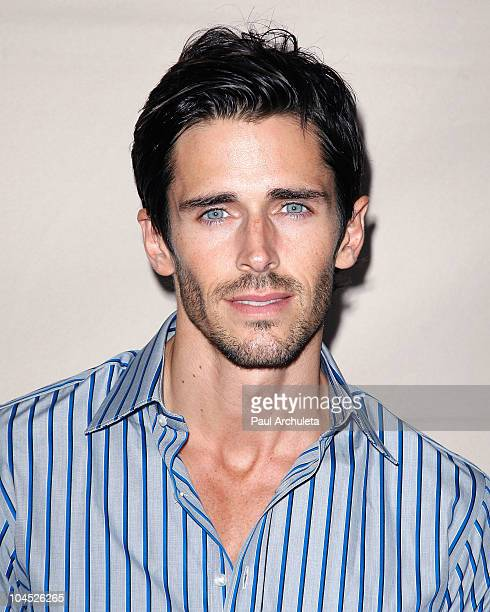 Actor Brandon Beemer arrives at the Academy Of Television's presentation to 'Celebrate 45 Years Of Days Of Our Lives' at Leonard H Goldenson Theatre...