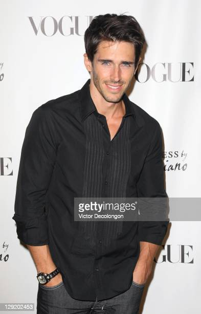 Actor Brandon Beemer arrives at the GUESS By Marciano VOGUE 2011 Holiday Collection Debut at Mr C Beverly Hills on October 13 2011 in Beverly Hills...