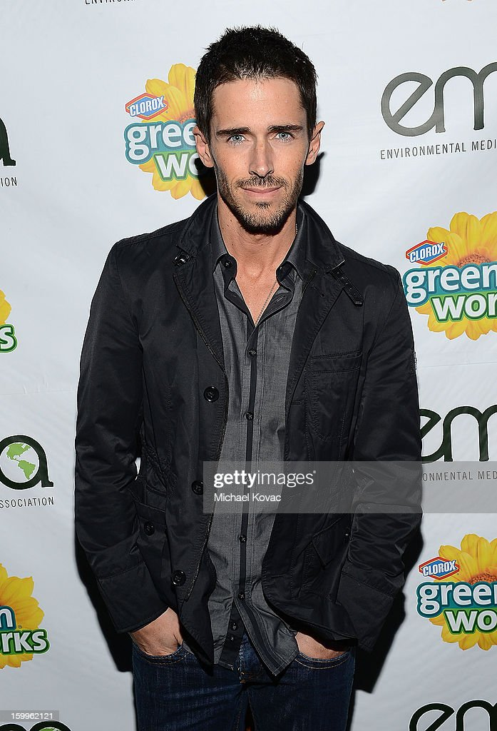 Actor Brandon Beemer attends Celebrities and the EMA Help Green Works Launch New Campaign at Sur Restaurant on January 23, 2013 in Los Angeles, California.