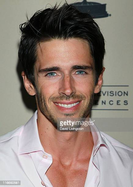 Actor Brandon Beemer attends the 2011 Daytime Emmy Awards nominees cocktail reception at SLS Hotel Beverly Hills on June 16 2011 in Beverly Hills...