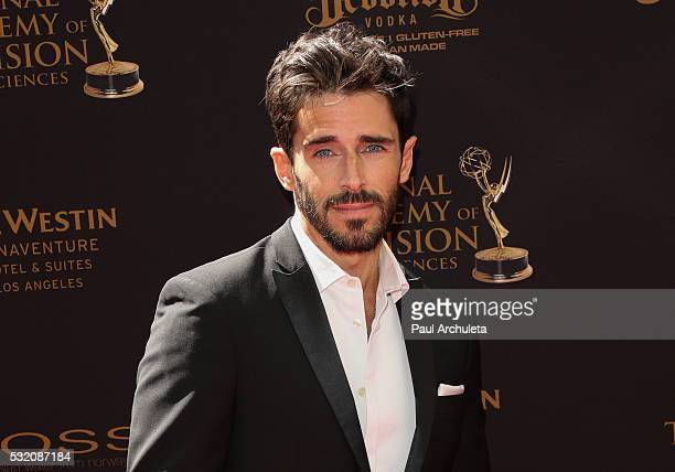 Actor Brandon Beemer attends the 2016 Daytime Emmy Awards at Westin Bonaventure Hotel on May 1 2016 in Los Angeles California